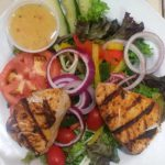 Garden-Salad-Grilled-Fish